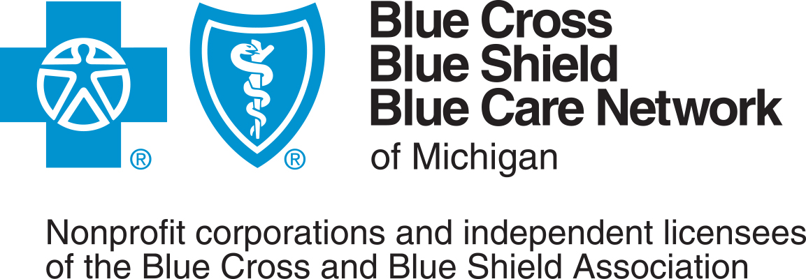 Blue Cross Blue Shield of Michigan Sponsor Logo