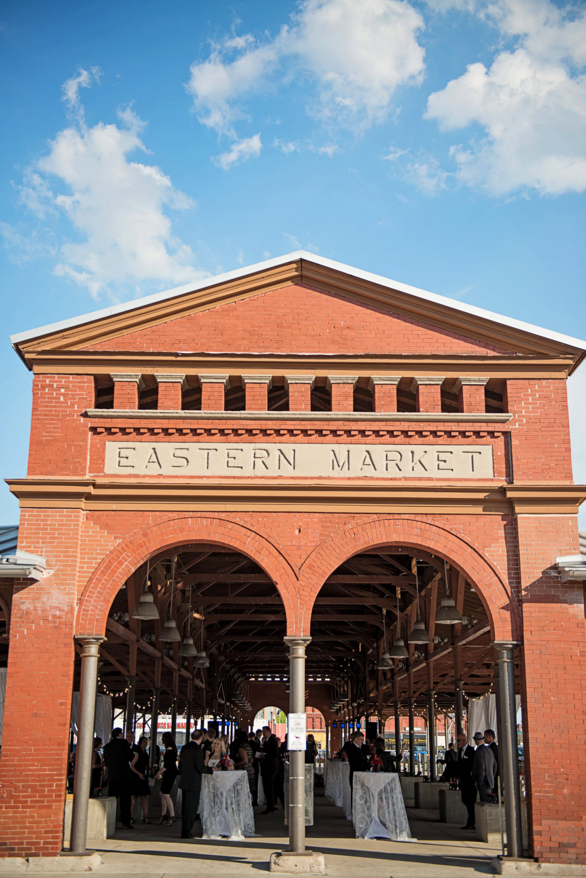 Eastern Market entrance